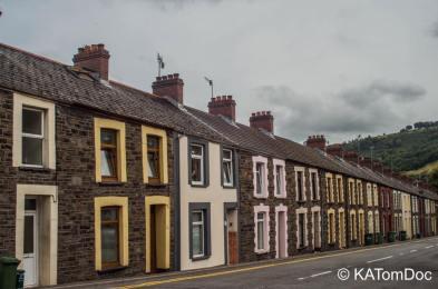 An old welsh village